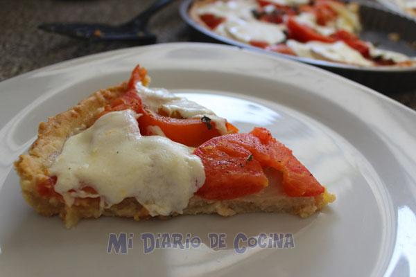 Pie de tomate