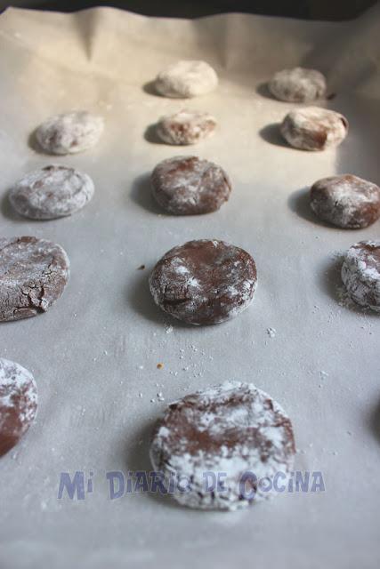 Galletas de chocolate - Preparación