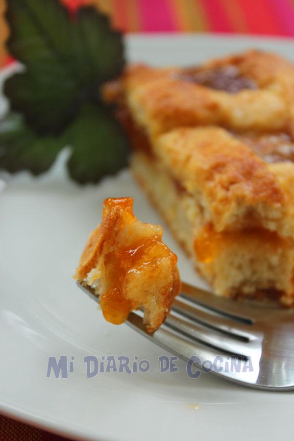 Kuchen con mermelada