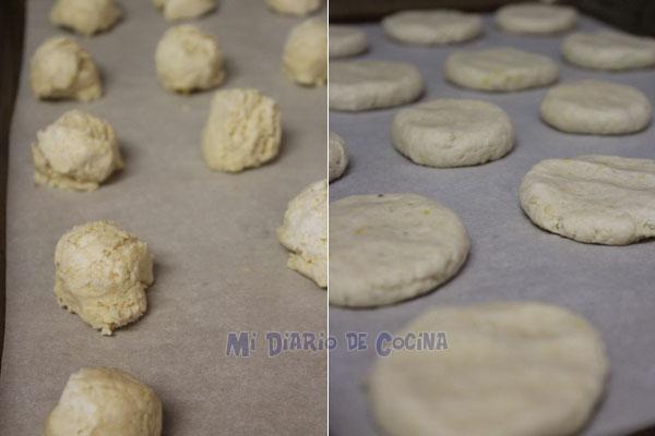 Galletas de limón - Preparación