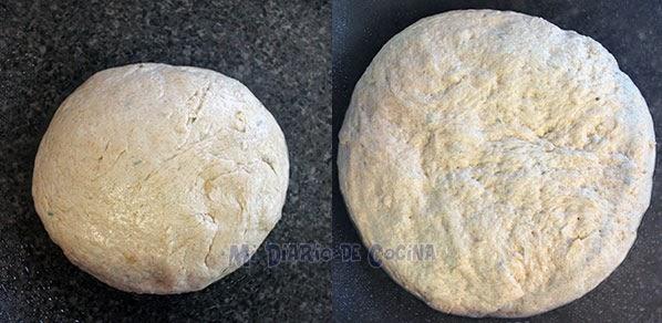 Pan con ajo y romero